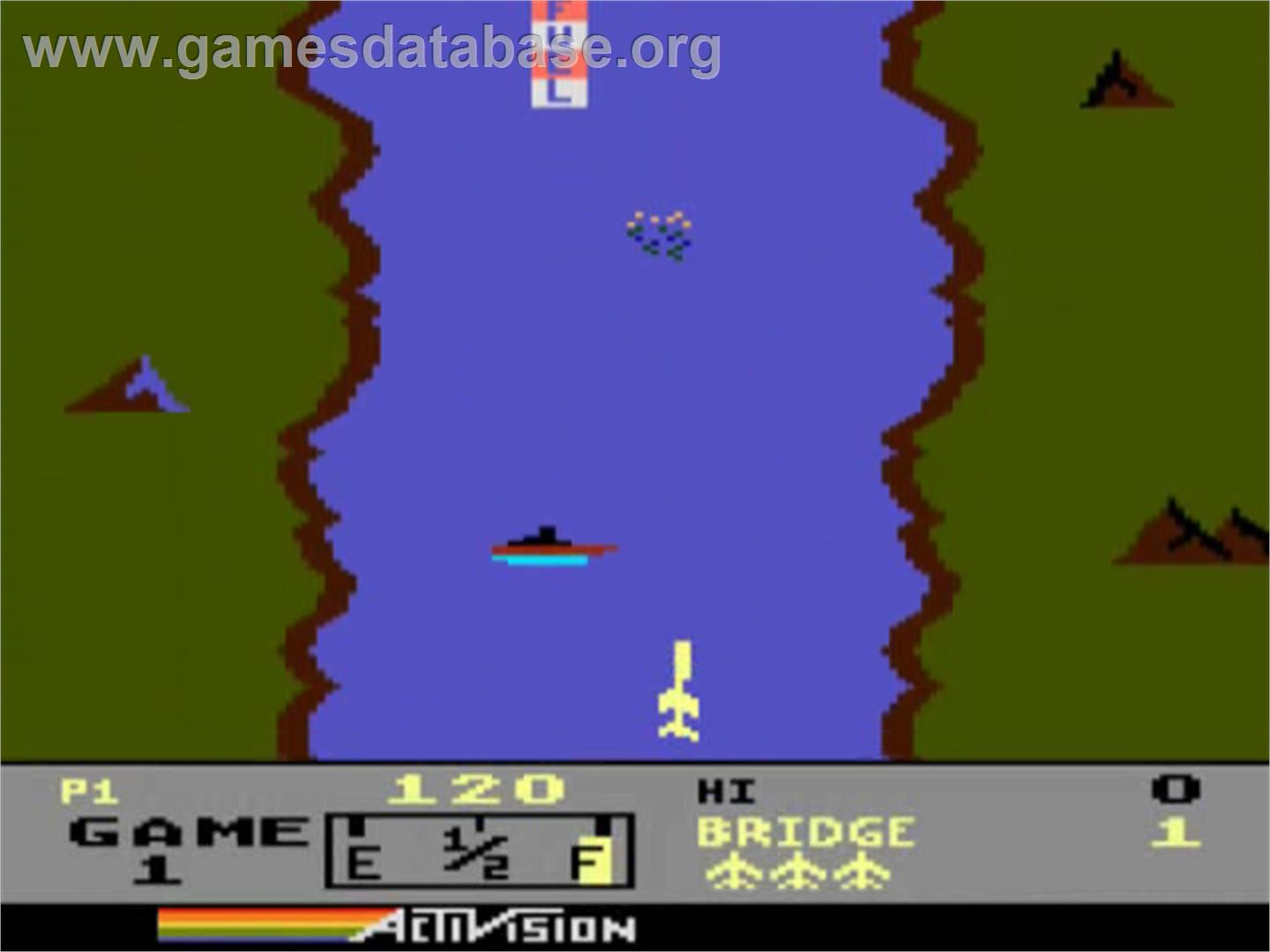 River Raid - Atari 5200 - Artwork - In Game