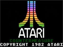 Title screen of Countermeasure on the Atari 5200.