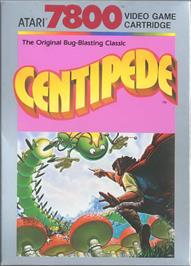 Box cover for Centipede on the Atari 7800.