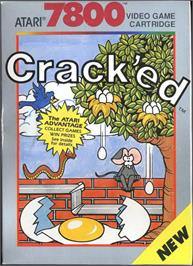 Box cover for Crack'ed on the Atari 7800.
