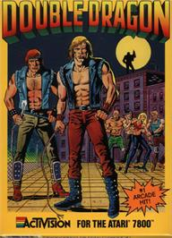 Box cover for Double Dragon on the Atari 7800.