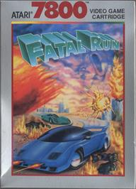 Box cover for Fatal Run on the Atari 7800.