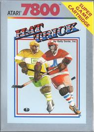 Box cover for Hat Trick on the Atari 7800.
