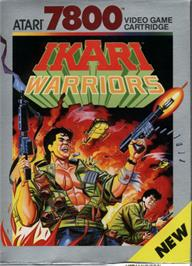 Box cover for Ikari Warriors on the Atari 7800.