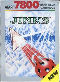 Box cover for Jinks on the Atari 7800.