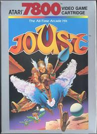 Box cover for Joust on the Atari 7800.