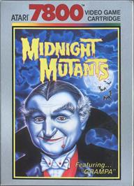 Box cover for Midnight Mutants on the Atari 7800.