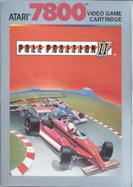 Box cover for Pole Position II on the Atari 7800.