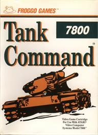 Box cover for Tank Command on the Atari 7800.