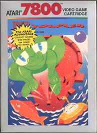 Box cover for Tower Toppler on the Atari 7800.