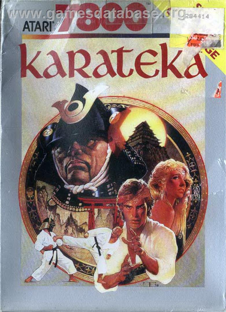 Karateka - Atari 7800 - Artwork - Box