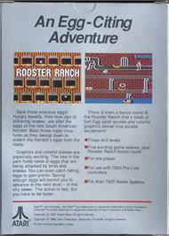 Box back cover for Crack'ed on the Atari 7800.