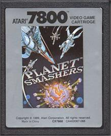 Cartridge artwork for Pit Fighter on the Atari 7800.
