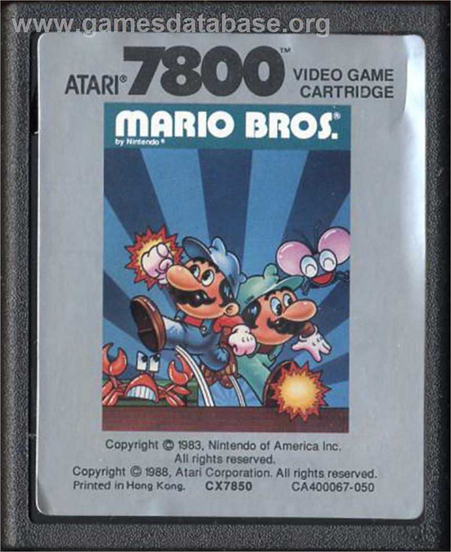 Mario Bros. - Atari 7800 - Games Database