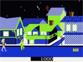 In game image of Crossbow on the Atari 7800.