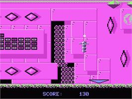 In game image of Jinks on the Atari 7800.
