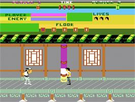 In game image of Kung-Fu Master on the Atari 7800.