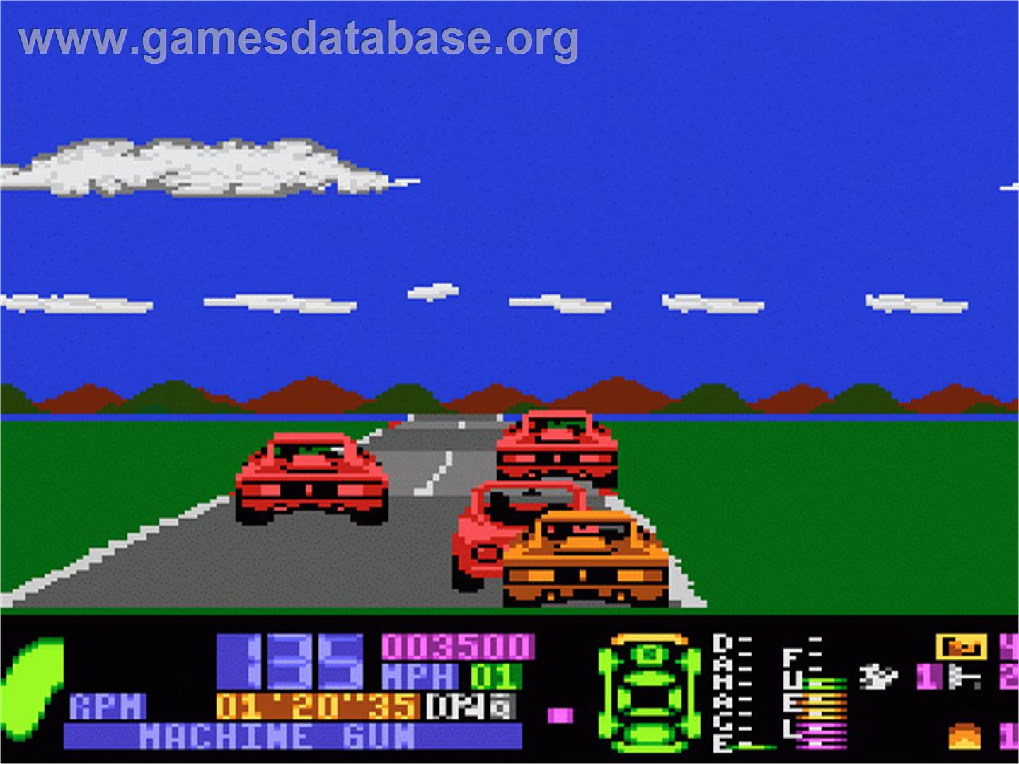 Fatal Run - Atari 7800 - Games Database