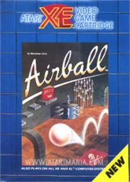 Box cover for Airball on the Atari 8-bit.