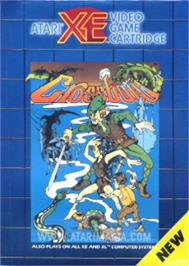 Box cover for Crossbow on the Atari 8-bit.