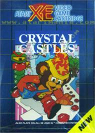 Box cover for Crystal Castles on the Atari 8-bit.