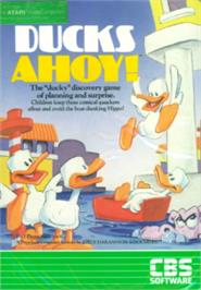 Box cover for Ducks Ahoy on the Atari 8-bit.