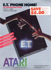Box cover for E.T. Phone Home on the Atari 8-bit.