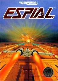 Box cover for Espial on the Atari 8-bit.
