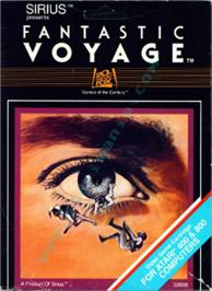 Box cover for Fantastic Voyage on the Atari 8-bit.