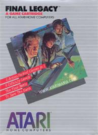 Box cover for Final Legacy on the Atari 8-bit.