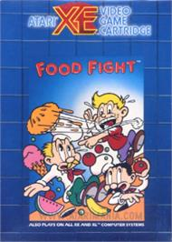 Box cover for Food Fight on the Atari 8-bit.