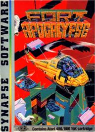 Box cover for Fort Apocalypse on the Atari 8-bit.