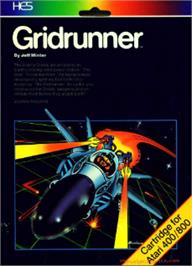 Box cover for Grid Runner on the Atari 8-bit.