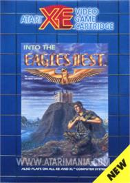 Box cover for Into the Eagle's Nest on the Atari 8-bit.