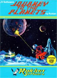 Box cover for Journey to the Planets on the Atari 8-bit.