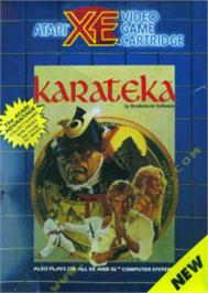Box cover for Karateka on the Atari 8-bit.