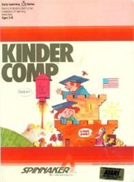 Box cover for Kindercomp on the Atari 8-bit.