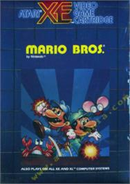Box cover for Mario Bros. on the Atari 8-bit.