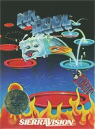 Box cover for Mr. Cool on the Atari 8-bit.