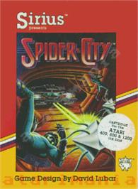 Box cover for New York City on the Atari 8-bit.