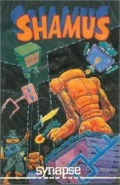 Box cover for Shamus on the Atari 8-bit.