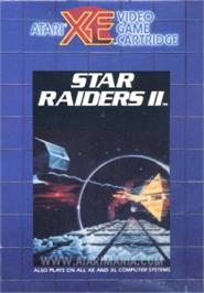 Box cover for Star Raiders 2 on the Atari 8-bit.