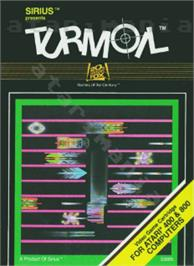 Box cover for Turmoil on the Atari 8-bit.