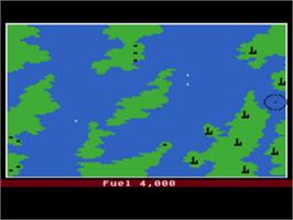 In game image of Final Legacy on the Atari 8-bit.