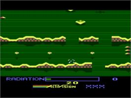In game image of Pastfinder on the Atari 8-bit.