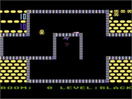 In game image of Shamus on the Atari 8-bit.