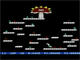In game image of Springer on the Atari 8-bit.