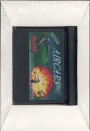 Box cover for AirCars on the Atari Jaguar.