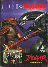 Box cover for Alien vs. Predator on the Atari Jaguar.