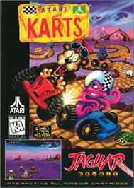 Box cover for Atari Karts on the Atari Jaguar.